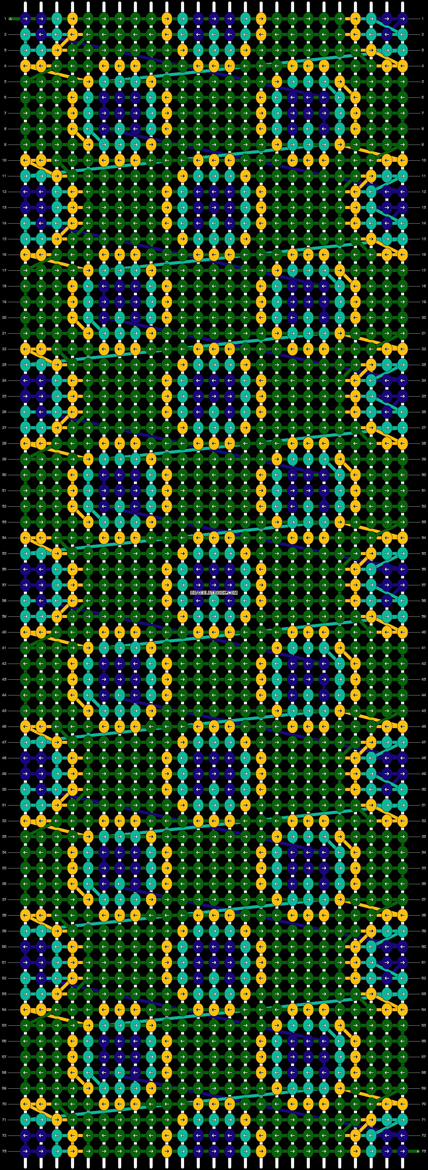 Alpha pattern #15050 pattern