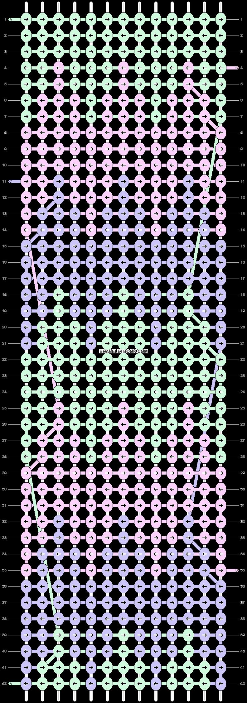 Alpha pattern #15054 pattern