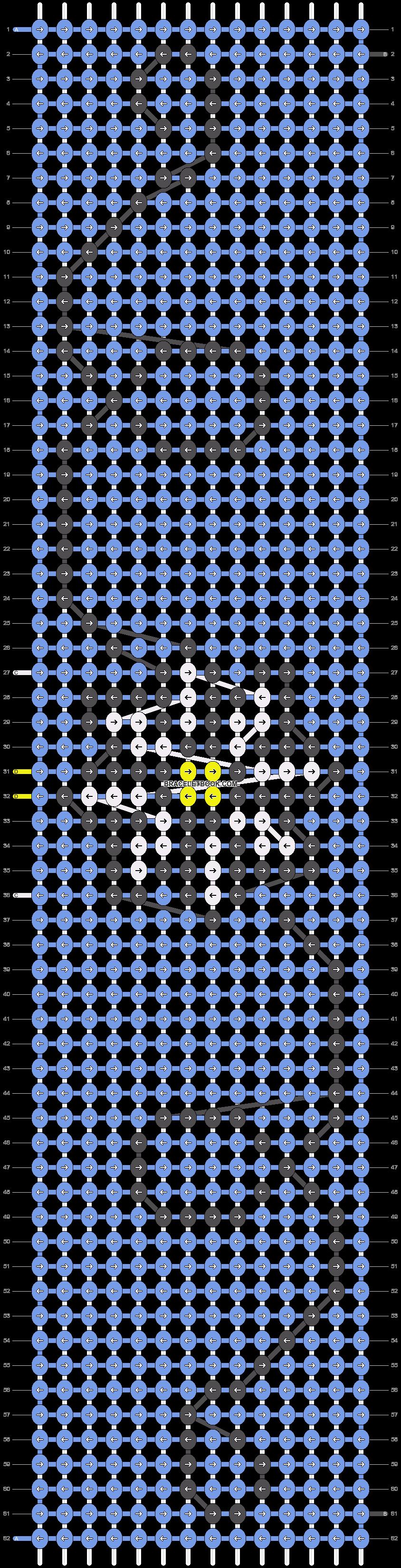 Alpha pattern #15062 pattern