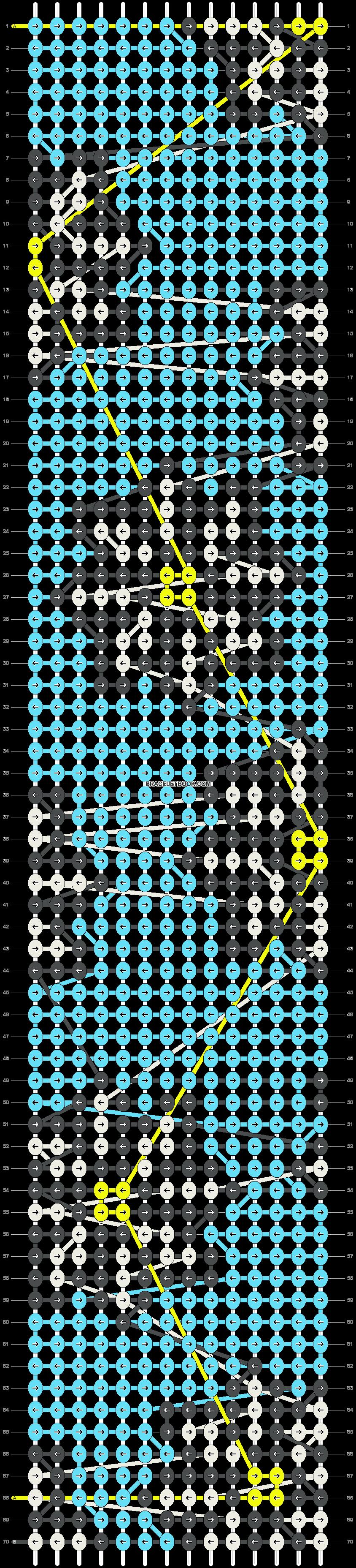 Alpha pattern #15063 pattern