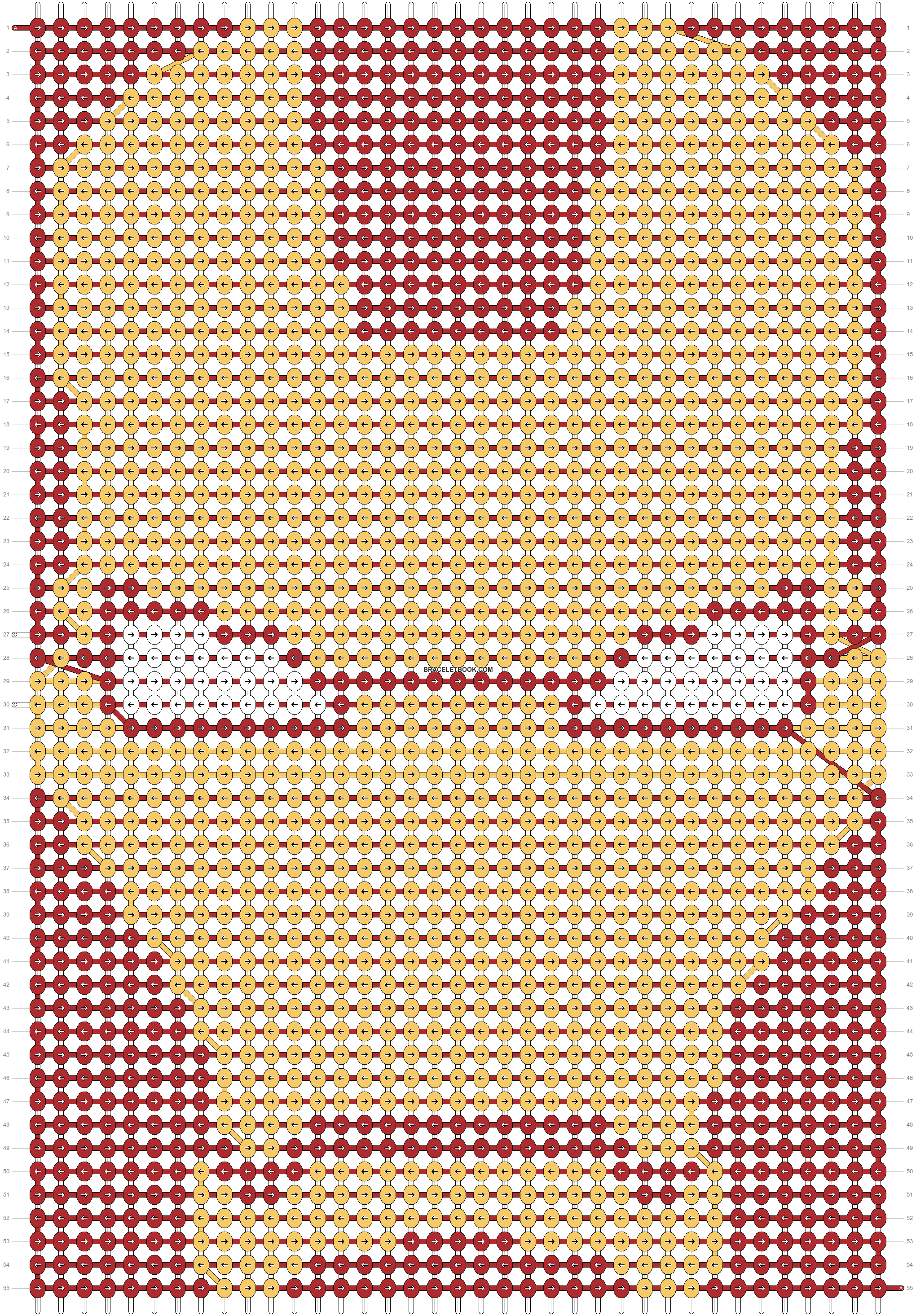 Alpha pattern #15068 pattern
