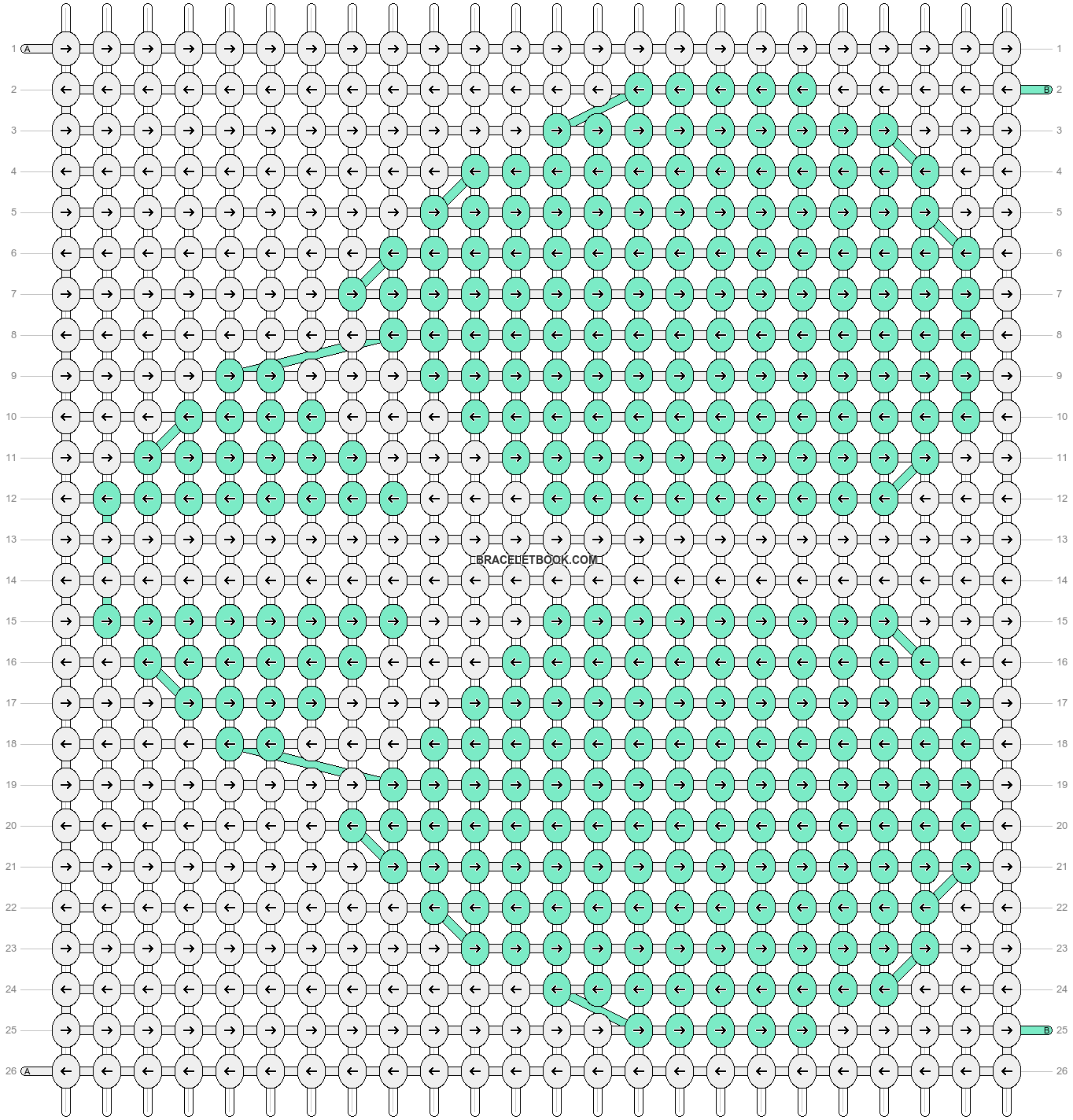 Alpha pattern #15071 pattern