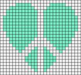Alpha Friendship Bracelet Pattern #15071