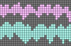 Alpha pattern #15076