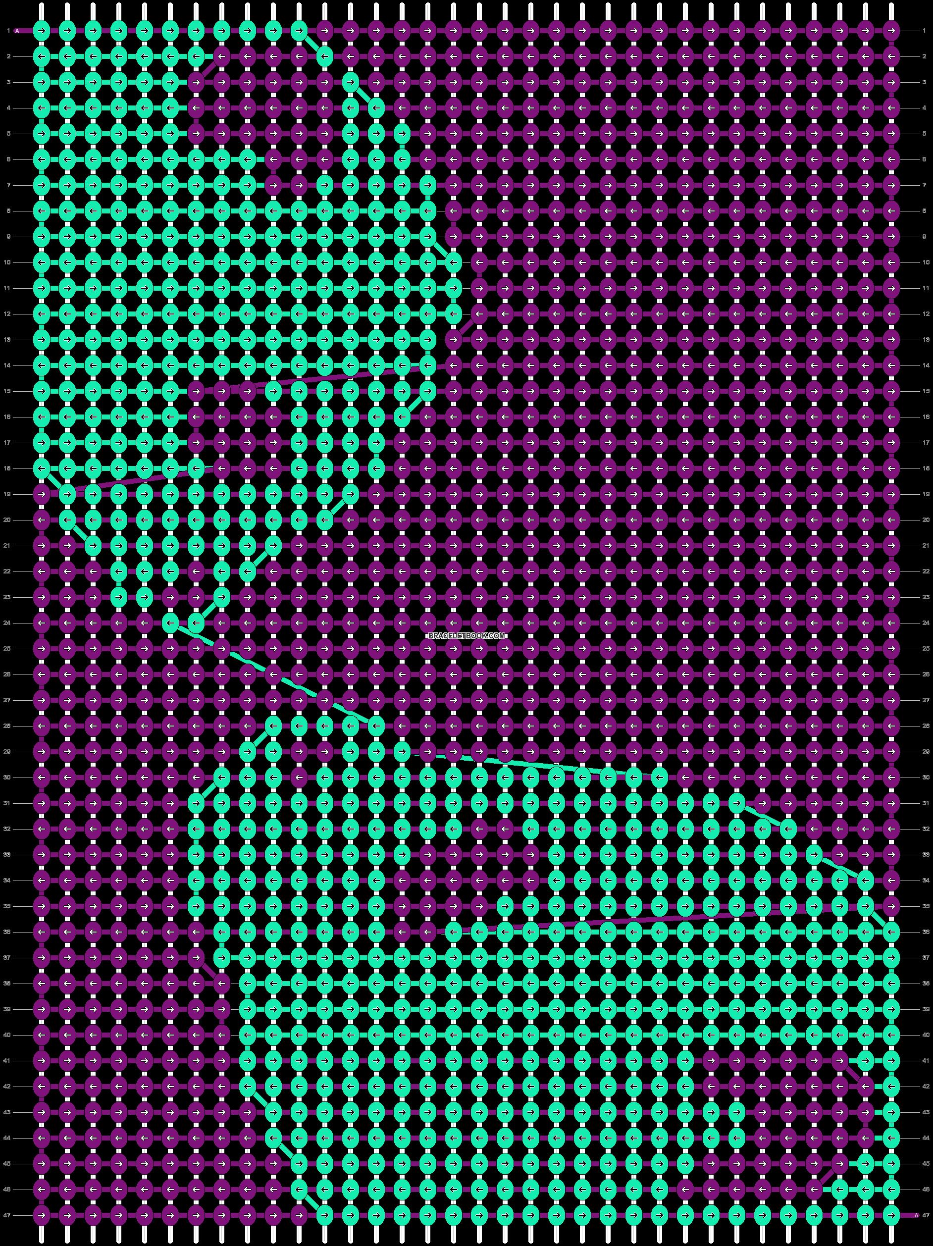 Alpha pattern #15084 pattern