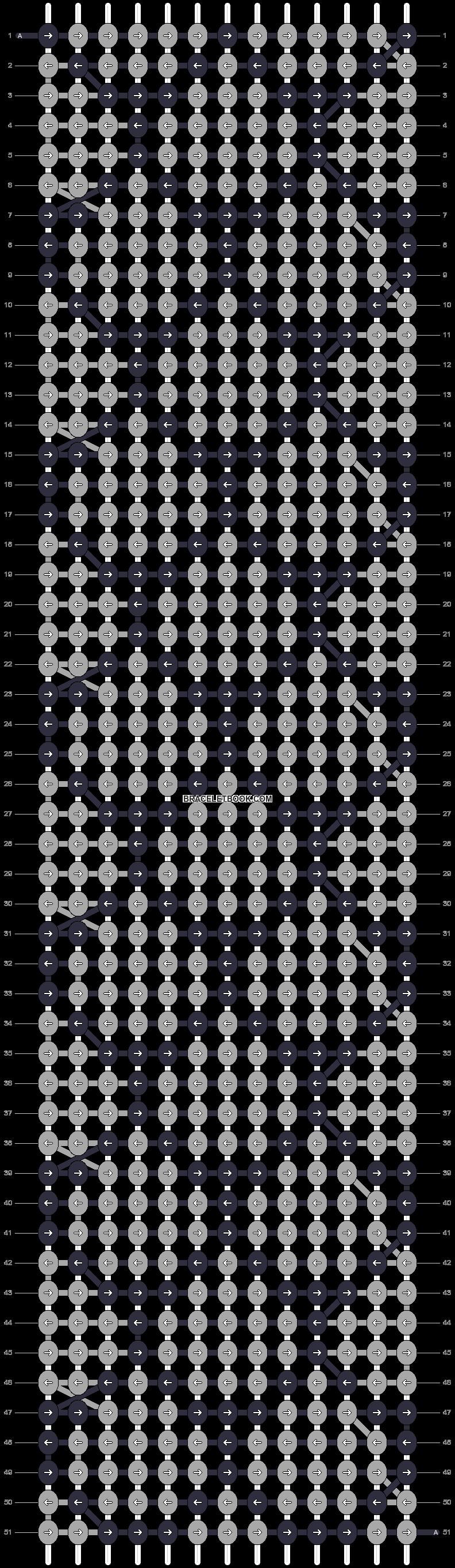 Alpha pattern #15085 pattern