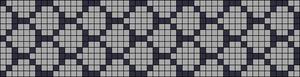 Alpha Friendship Bracelet Pattern #15085