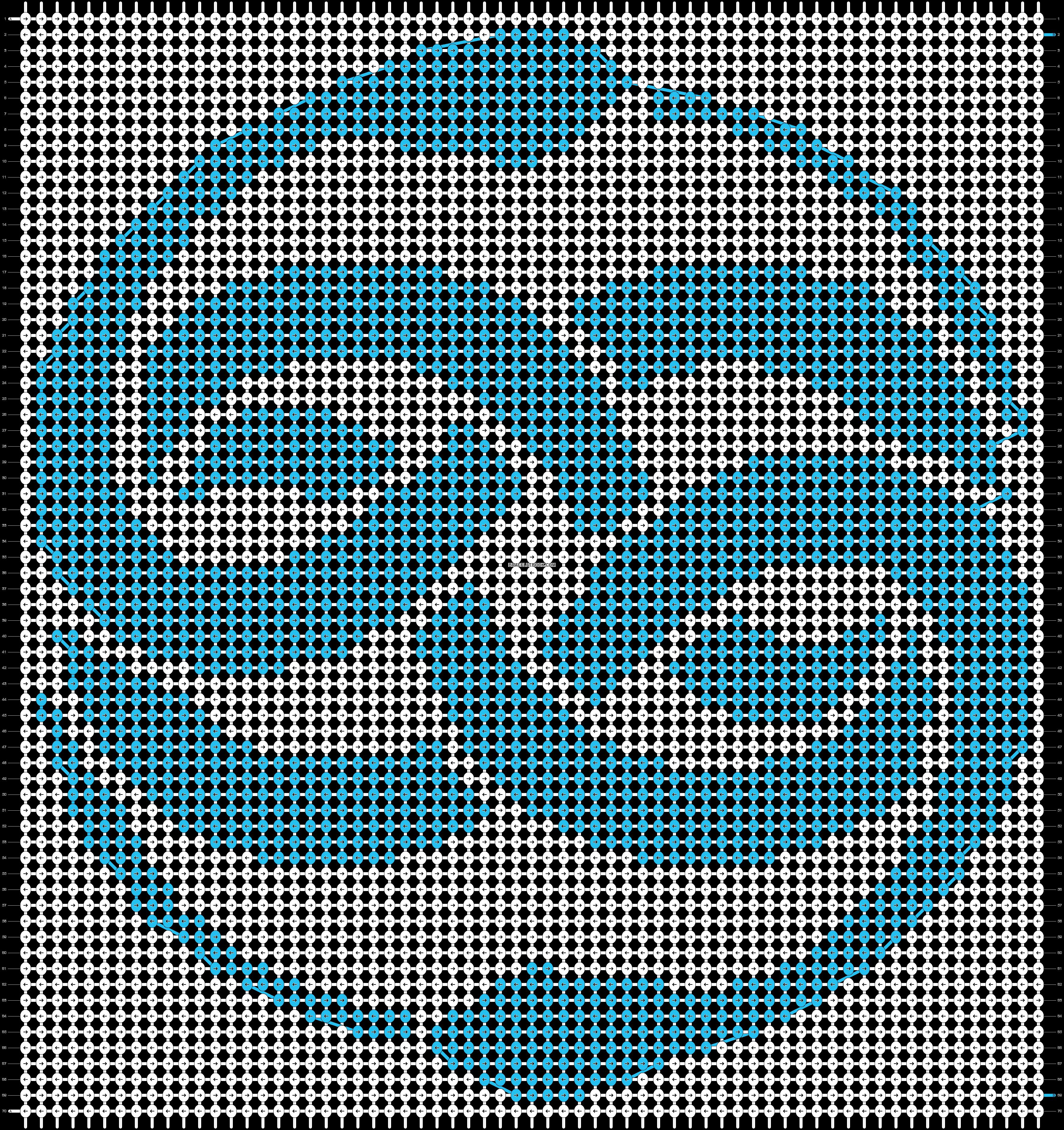 Alpha pattern #15090 pattern