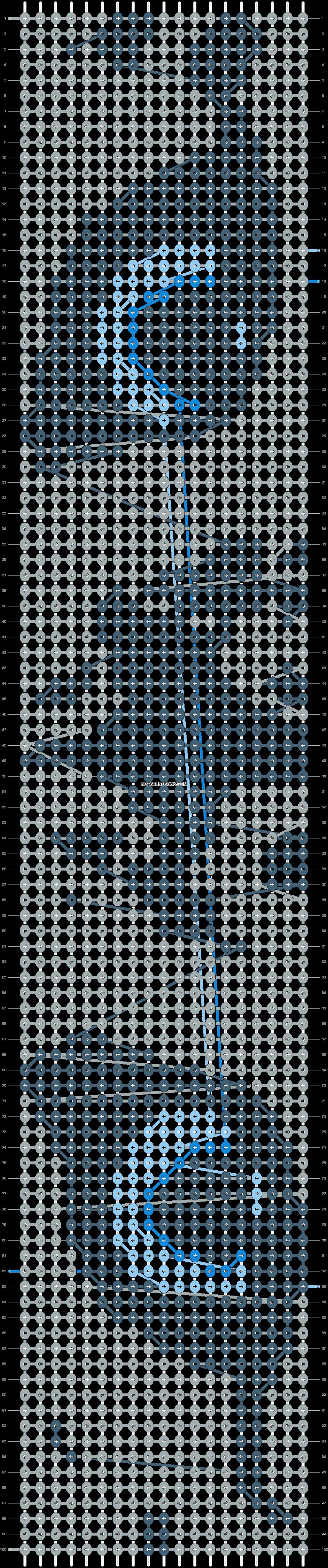 Alpha pattern #15092 pattern