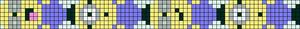 Alpha Friendship Bracelet Pattern #15096