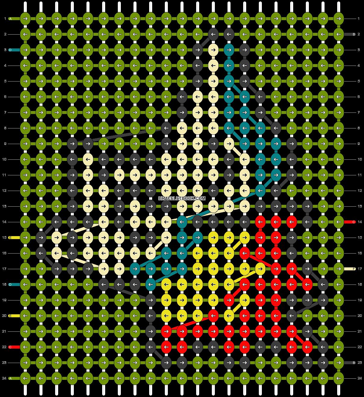 Alpha pattern #15107 pattern