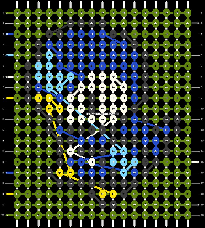 Alpha pattern #15110 pattern