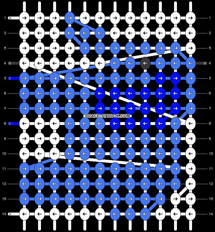Alpha pattern #15116 pattern