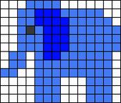 Alpha Friendship Bracelet Pattern #15116