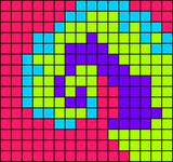 Alpha pattern #15125