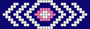 Alpha Friendship Bracelet Pattern #15127