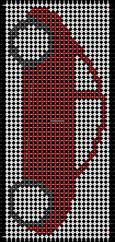 Alpha pattern #15129 pattern