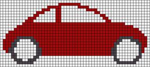 Alpha Friendship Bracelet Pattern #15129