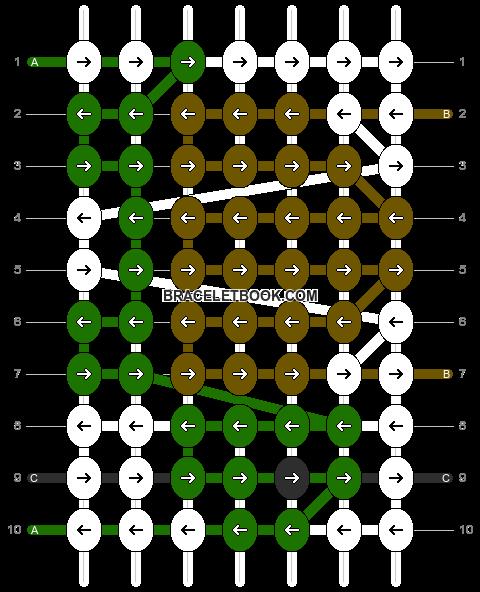 Alpha pattern #15136 pattern