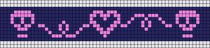 Alpha Friendship Bracelet Pattern #15144