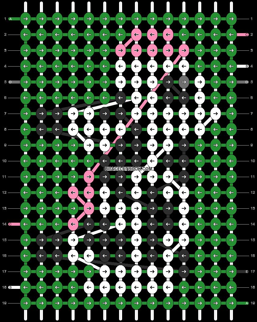 Alpha pattern #15158 pattern
