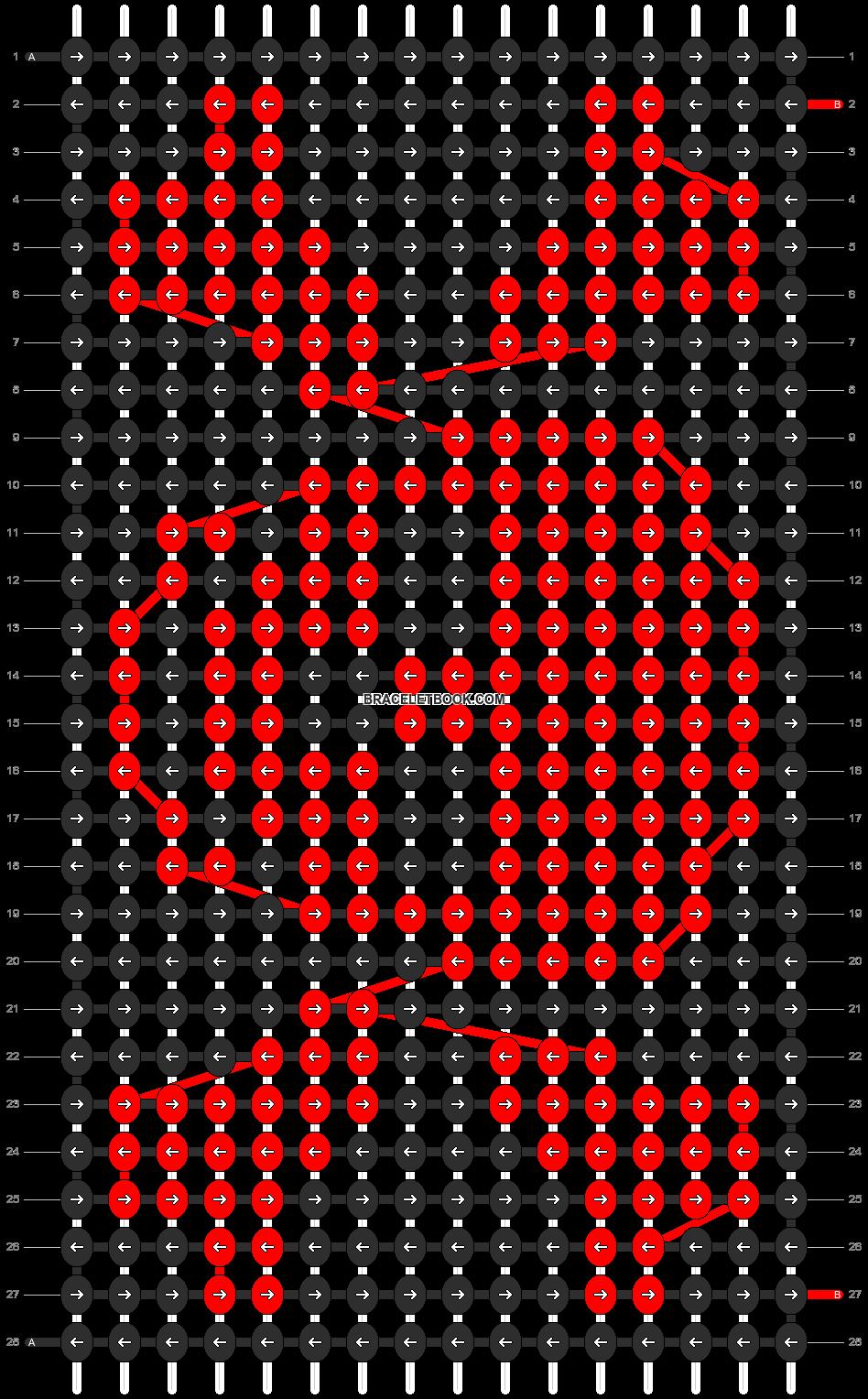 Alpha pattern #15166 pattern