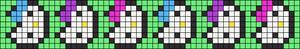 Alpha Friendship Bracelet Pattern #15170