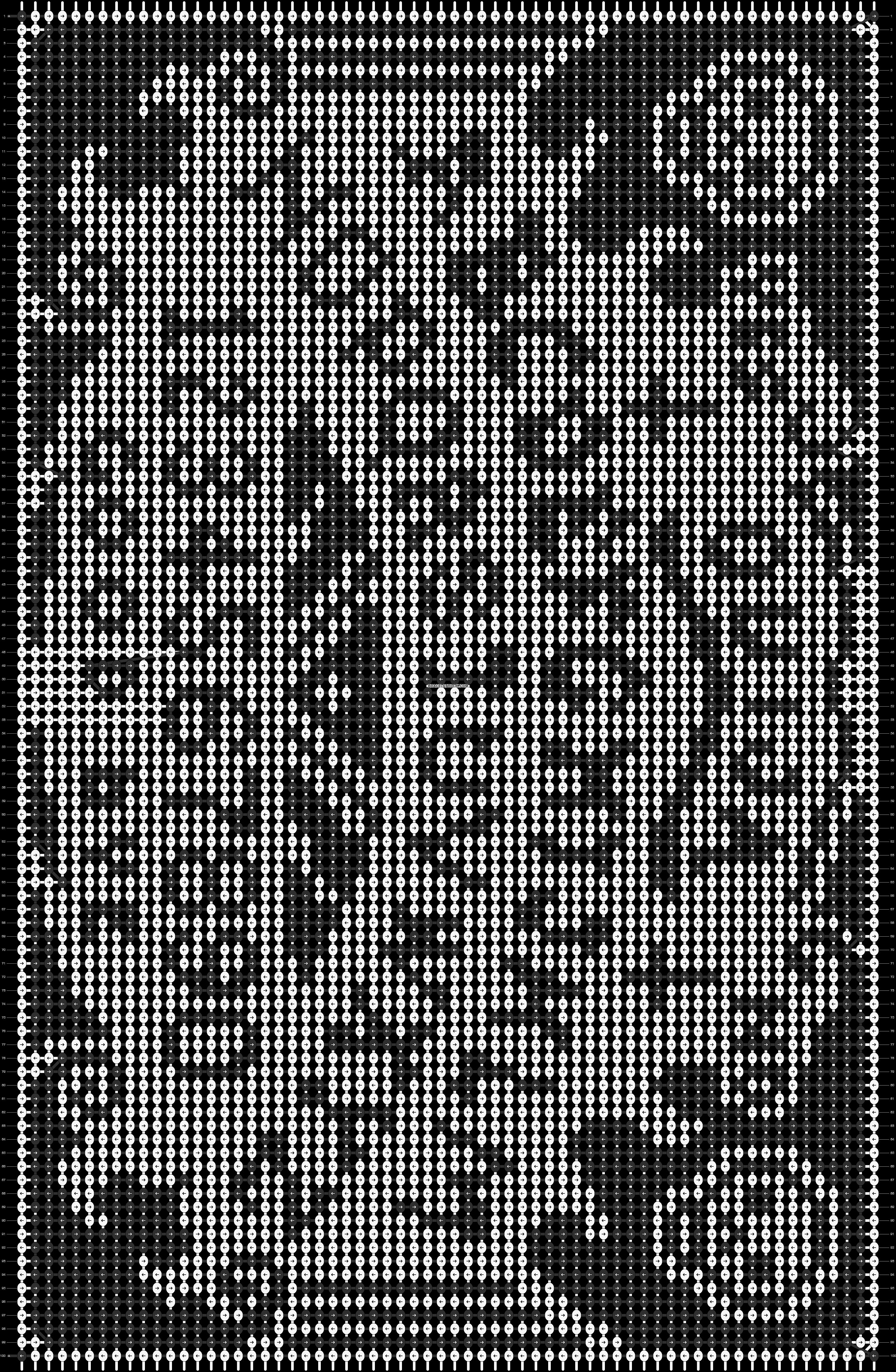 Alpha pattern #15172 pattern