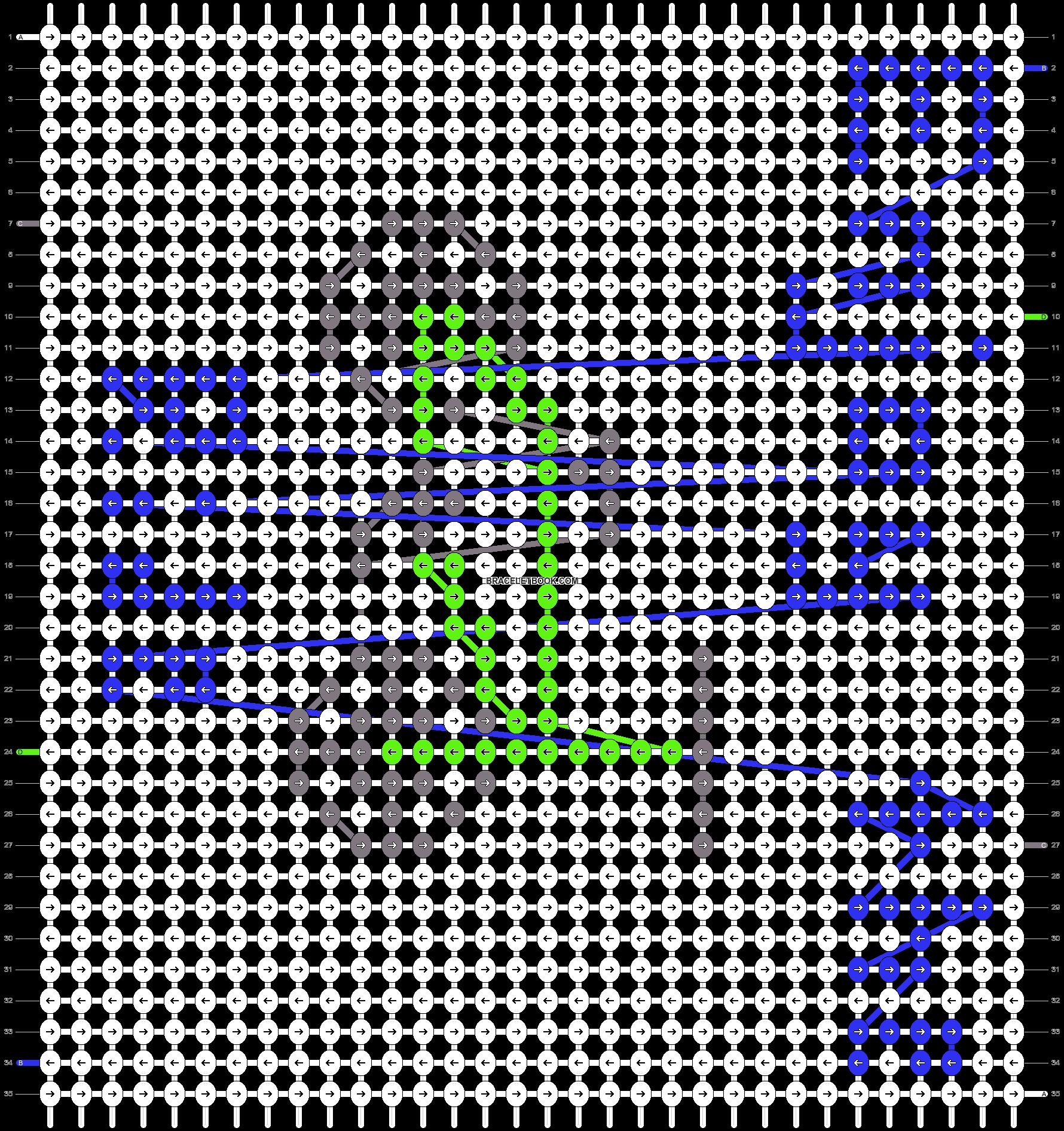 Alpha pattern #15183 pattern