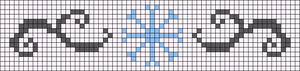Alpha Friendship Bracelet Pattern #15199