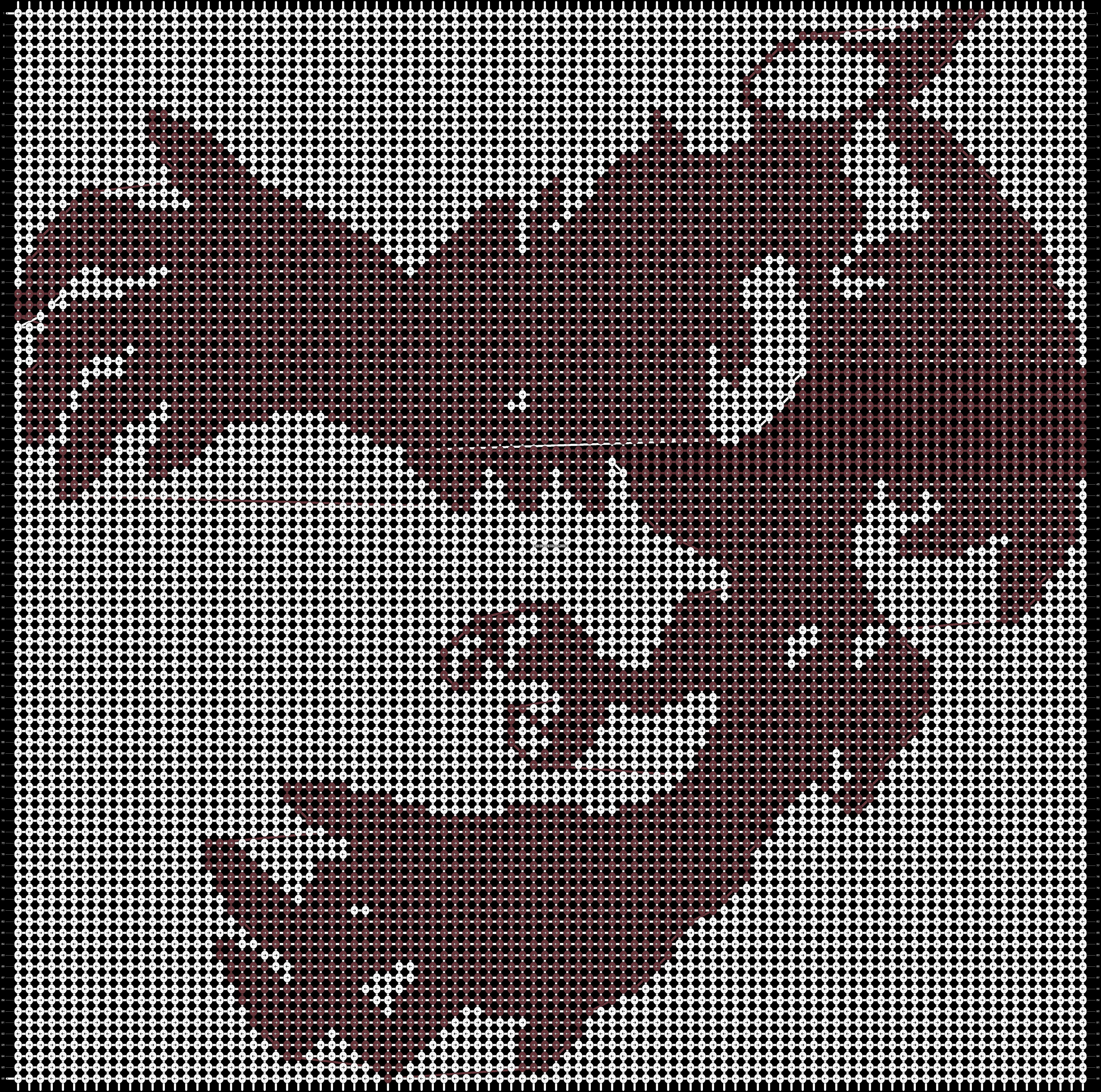 Alpha pattern #15205 pattern