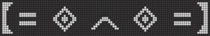 Alpha Friendship Bracelet Pattern #15212