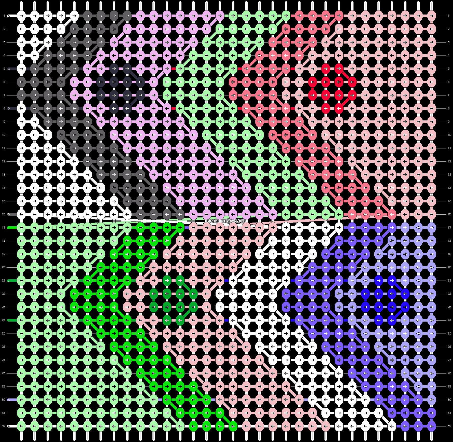 Alpha pattern #15229 pattern