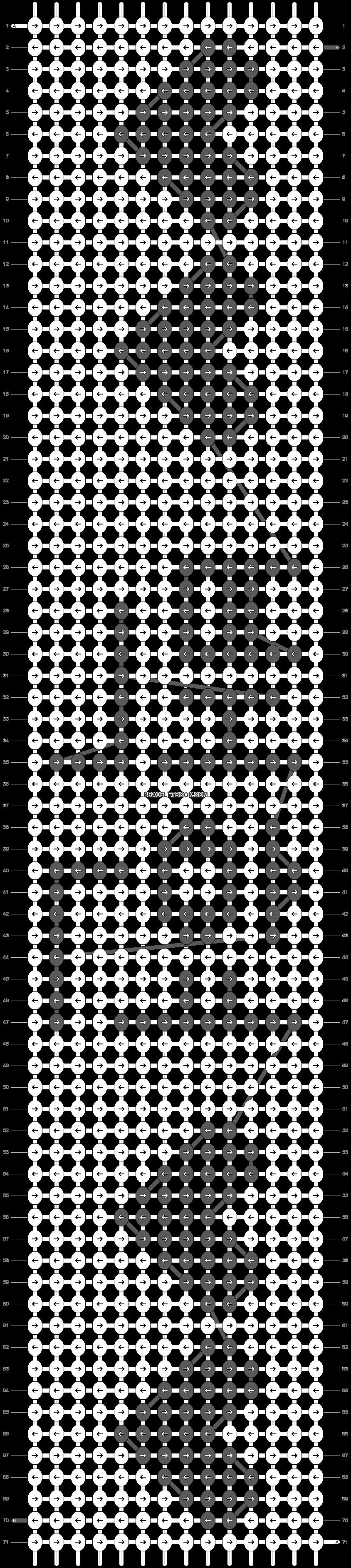 Alpha pattern #15231 pattern