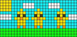 Alpha Friendship Bracelet Pattern #15244