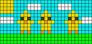 Alpha pattern #15244
