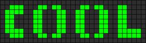Alpha pattern #15247