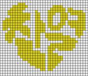 Alpha pattern #15258