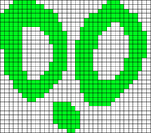 Alpha pattern #15265