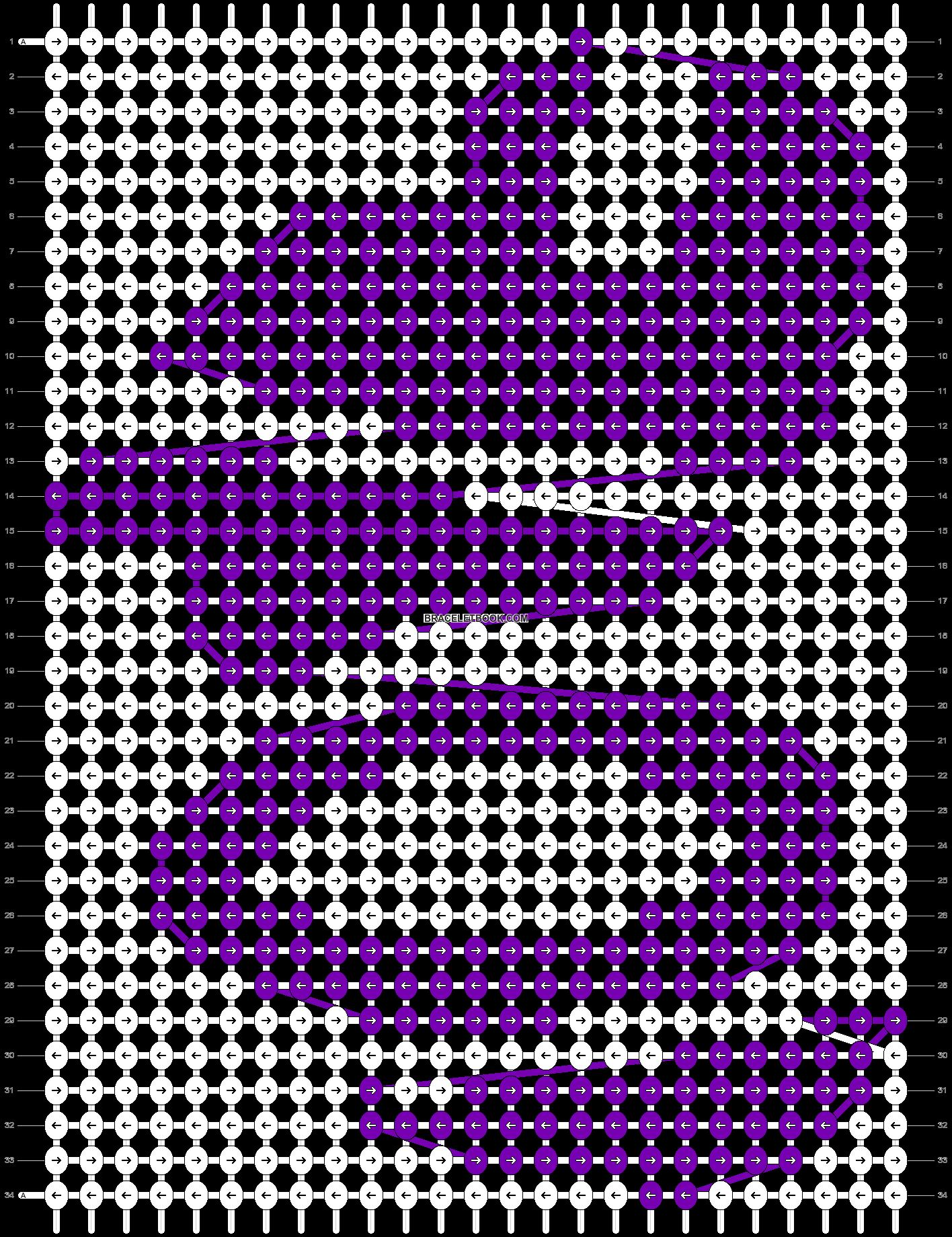 Alpha pattern #15266 pattern