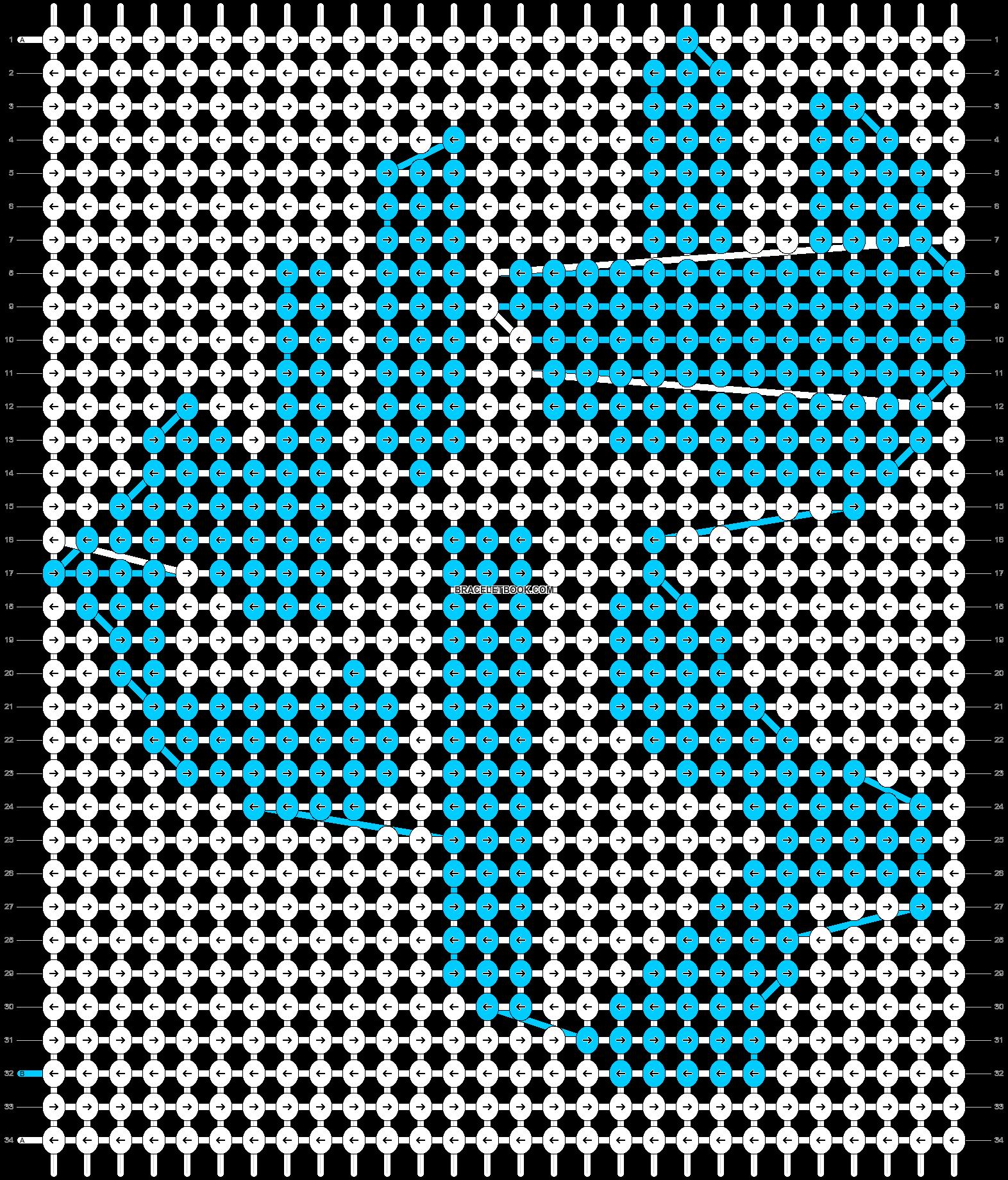 Alpha pattern #15270 pattern