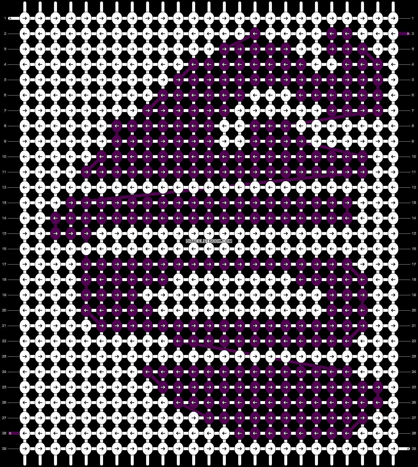 Alpha pattern #15272 pattern