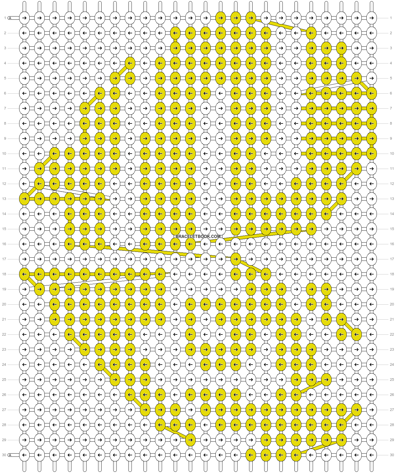 Alpha pattern #15274 pattern