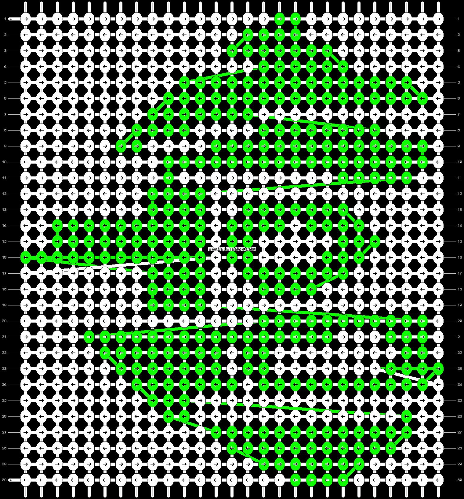 Alpha pattern #15282 pattern