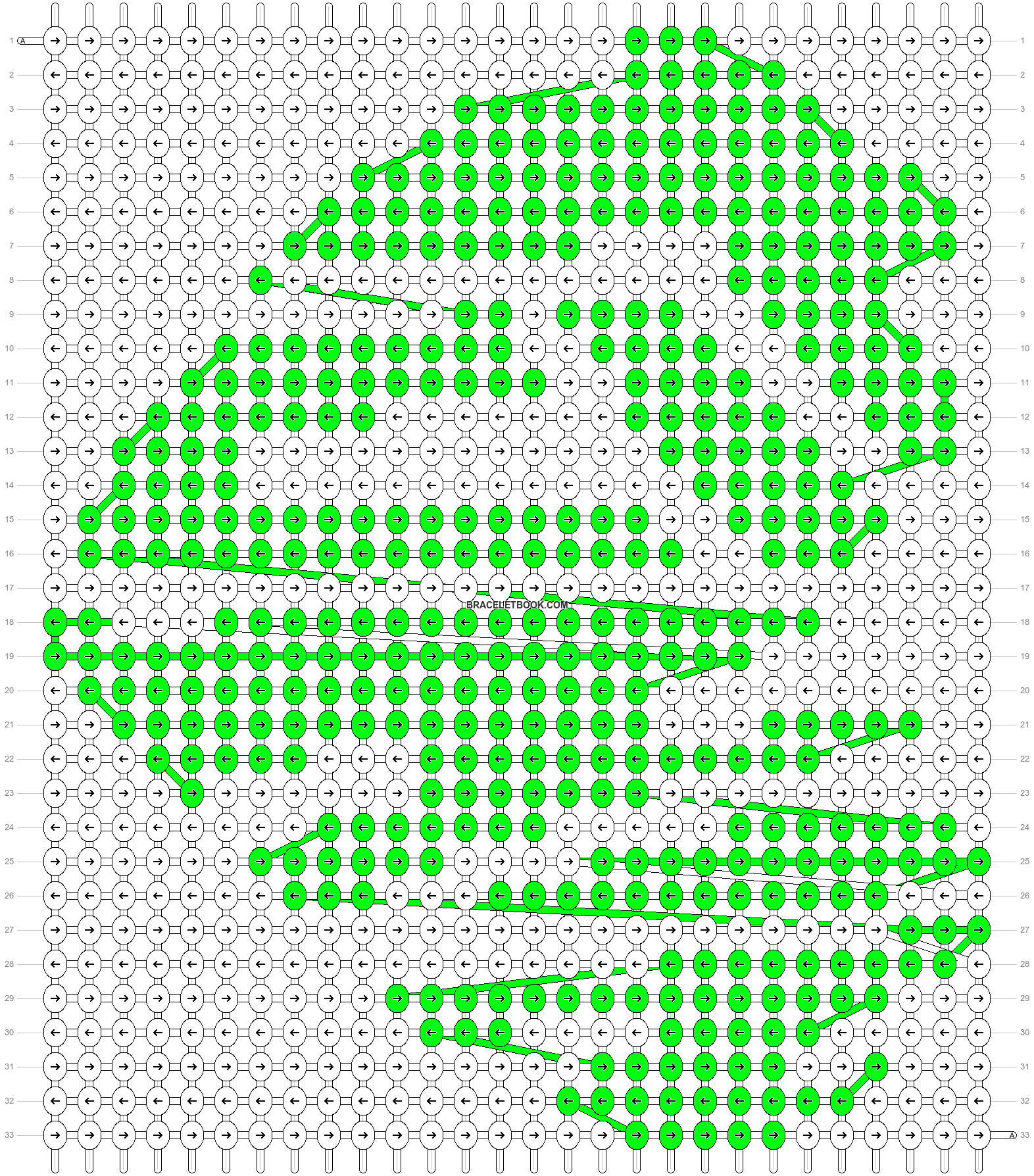 Alpha pattern #15283 pattern