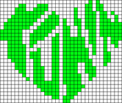 Alpha Friendship Bracelet Pattern #15283