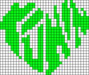 Alpha pattern #15283