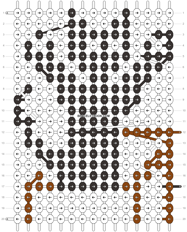 Alpha pattern #15284 pattern