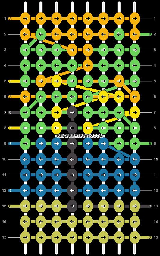 Alpha pattern #15289 pattern