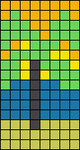 Alpha Friendship Bracelet Pattern #15289